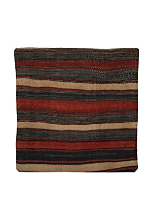 Uptown Down Previously Owned Striped Wool Pillow