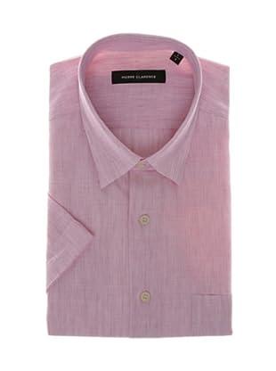 Pierre Clarence Camisa de manga corta (Rosa suave)