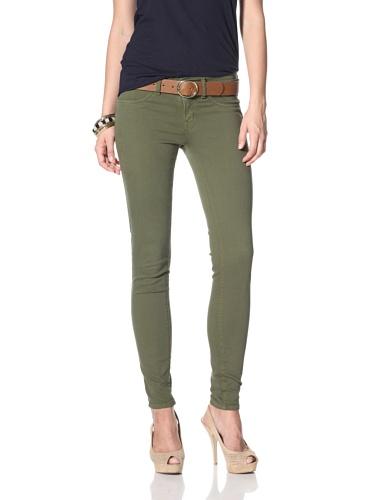 Henry & Belle Women's Super Skinny Ankle Jean (Fern)