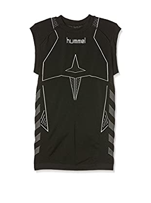 Hummel Funktionsunterhemd Baselayer Hero Sleeveless schwarz/dunkelgrau 10-12 Jahre (140/152 cm)