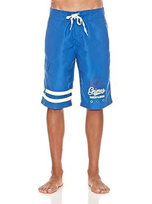 Grimey Wear Bañador Criminal Minded (Azul)