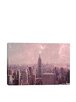 Bianca Green Stardust Covering New York Canvas Print