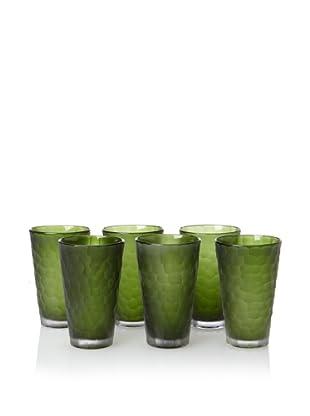 Impulse! Set of 6 Dwell Tumblers (Green)