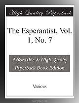 The Esperantist, Vol. 1, No. 7