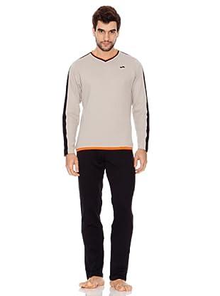 Abanderado Pijama Sport (Gris / Negro)