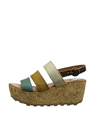 Fly London Sandalias Mest (Verde)