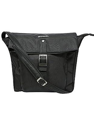 Bench Damen Umhängetasche Mullaly, Jet Black, One Size, BLXA0798