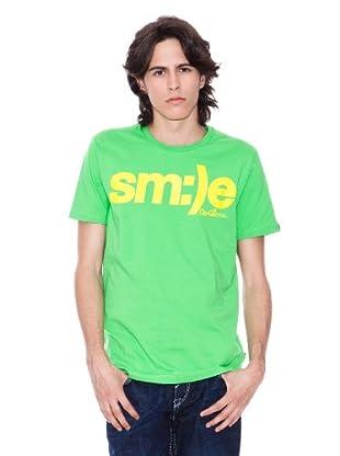 Gio Goi Camiseta Tirus (verde / amarillo)