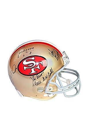 Steiner Sports Memorabilia Joe Montana & John Taylor Dual Signed San Francisco 49ers Replica Helmet