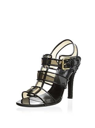 Dolce & Gabbana Women's Buckle Sandal (Black)