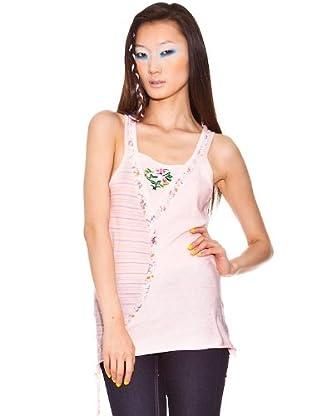 Custo Camiseta (Rosa)