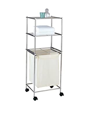 Organize It All Metro 3 Tier Laundry Cart