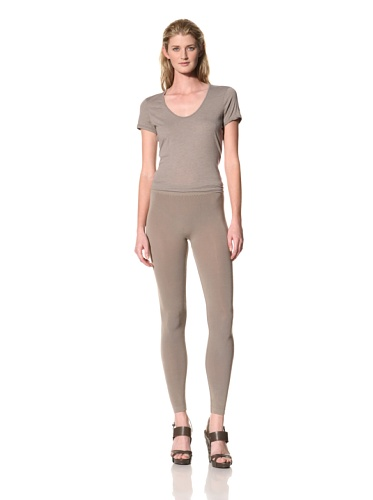 RICK OWENS Women's Leggings (Flesh)
