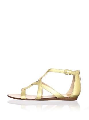 Dolce Vita Women's Ida Sandal (Gold Leather)