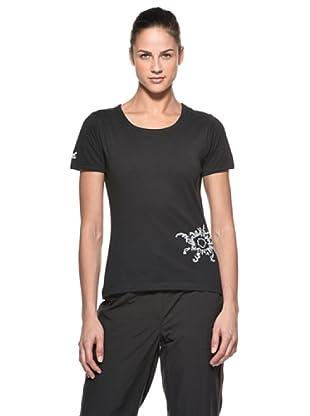 Salewa Camiseta Sara (Negro)
