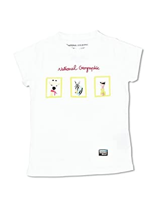 National Geographic T-Shirt Portraits (Bianco)