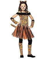 Big Girls' Tigress Costume Small (4-6)