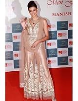Ethnic Trend Net And Shantoon Bollywood Replica Dress - 1034