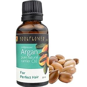 Soulflower Coldpressed Argan Carrier Oil, 30ml