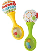 Fisher Price Rattle 'n Rock Maracas Musical, Multi Color