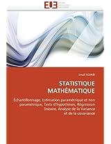 Statistique Mathematique (Omn.Univ.Europ.)
