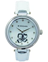Giordano Analog Mother of Pearl Dial Women's Watch - A2010-01