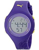 PUMA Women's PU911092004 Twist S Purple Sport Watch