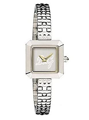 D&G DW-0291 - Reloj de Señora movimiento de cuarzo con brazalete metálico