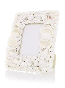 Seaside Cottage Shell Frame (White)