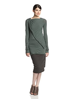 Rick Owens DRKSHDW Women's Long Sleeve Top (Palm)