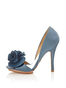 Badgley Mischka Women's Randall d'Orsay Pump (Blue)