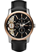 Fossil Other - Me Analog Watch - For Men - Black - ME1099