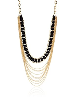 Jules Smith Ribbon & Chain Necklace