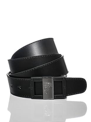 Versace Collection Cinturón Paavo (Negro)