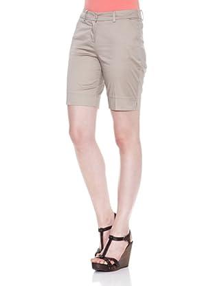Carrera Jeans Bermuda Gabardina Stretch (Beige)