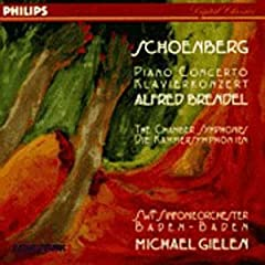 Schoenberg: Piano Concerto, Chamber Symphonies