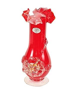 1960s Art Glass Vase