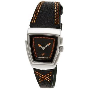 Fastrack Denim Analog Black Dial Women's Watch - NE6021SL03