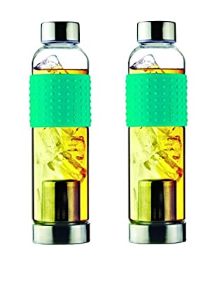 AdNArt Set of 2 Iced T's To-Go (Teal)