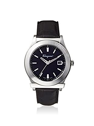 Salvatore Ferragamo Men's FF3950014 1898 Black Leather Watch