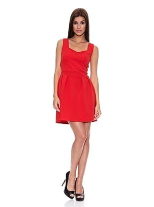 Springfield Vestido T Vestido E/Corazon Tir (Rojo)