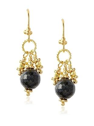 Robindira Unsworth Eagle Eye Cluster Earrings