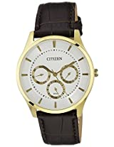 Citizen Analog White Dial Men's Watch - AG8352-08A