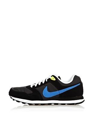 Nike Zapatillas Nike Md Runner (Gris / Negro / Azul)