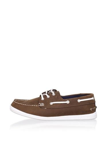 Nautica Hyannis Boat Shoe (Toddler/Little Kid/Big Kid) (Tan)