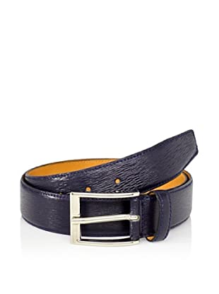 Leone Braconi Men's Minipaglia Belt (Navy)
