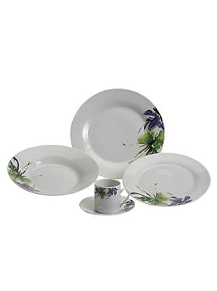 Table Set 30 Pezzi Tavola Tondo Iris