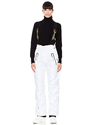 Geographical Norway/ Anapurna Pantalón de Esquí Xobalt Lady (Blanco / Negro)