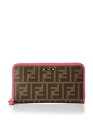 FENDI Geldbeutel Zip Around Wallet Zucca