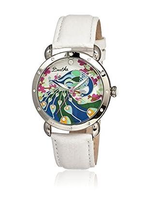 Bertha Uhr mit Japanischem Quarzuhrwerk Didi weiß 41 mm